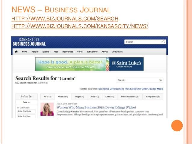 NEWS – BUSINESS JOURNAL HTTP://WWW.BIZJOURNALS.COM/SEARCH HTTP://WWW.BIZJOURNALS.COM/KANSASCITY/NEWS/