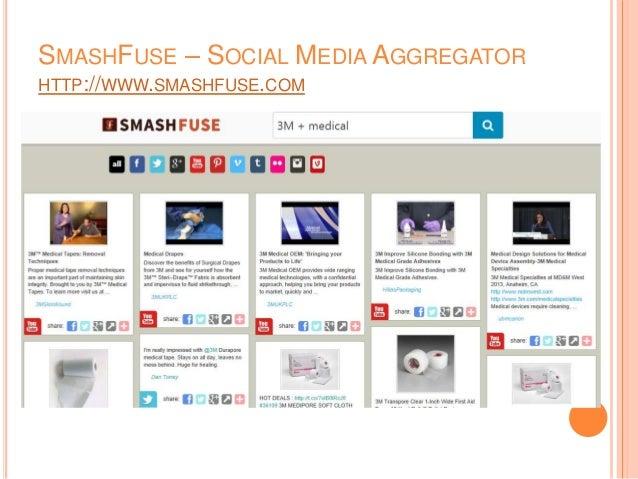 SMASHFUSE – SOCIAL MEDIA AGGREGATOR HTTP://WWW.SMASHFUSE.COM
