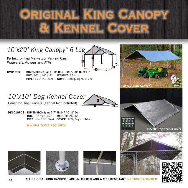 2016KingCanopyProductCatalog8 26 16