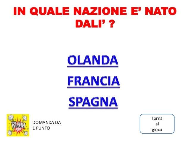 Salvador Dali Gioco A Quiz In Power Point Per Bambini Scarica Su Ww