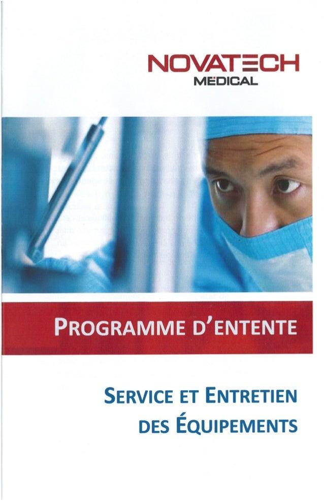Programme d'entente 2016
