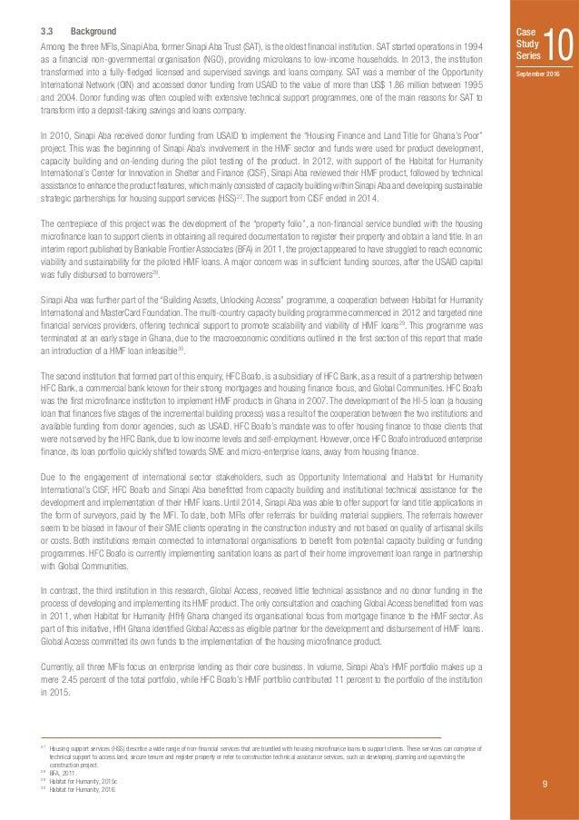 unitus microfinance case study Harvard business school case studies on women in business:  (c200 case study initiative: 1998-2003:  microfinance industry, describes the unitus business model,.