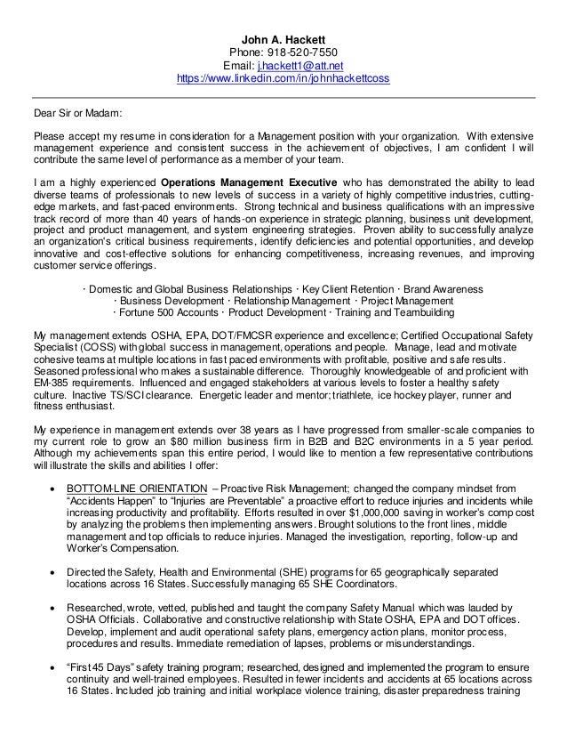 John A Hackett 12-19-16 Resume & Cover Letter (1)