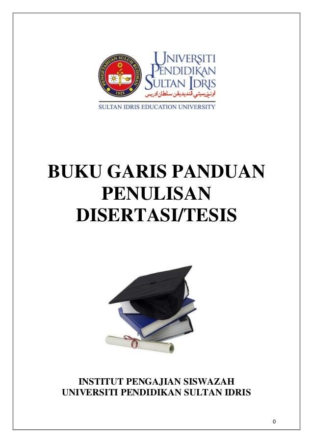 panduan thesis upsi