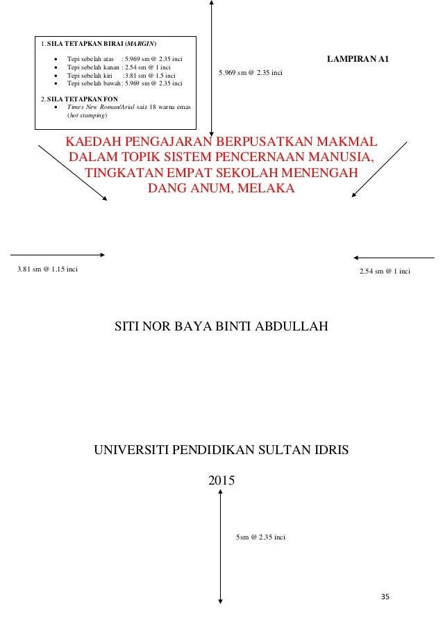panduan thesis uthm