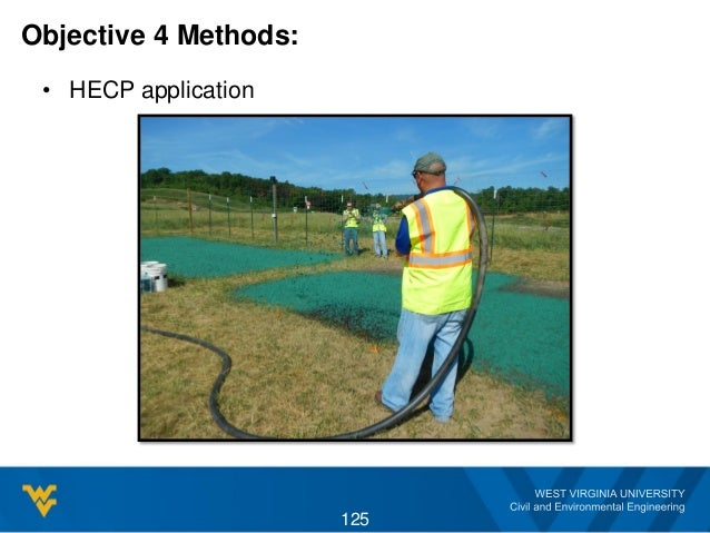 Objective 4 Methods: • HECP application 125