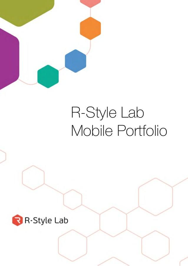 R-Style Lab Mobile Portfolio