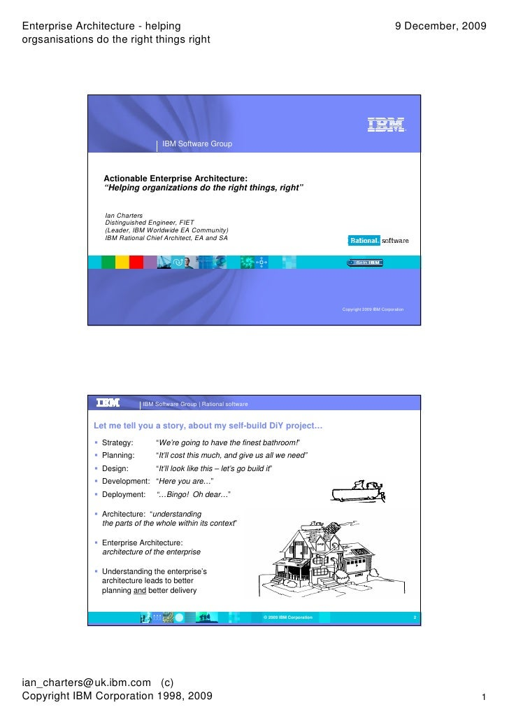Enterprise Architecture - helping                                                                                         ...