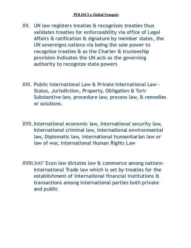 Responsibility in international law: Alternation of generations