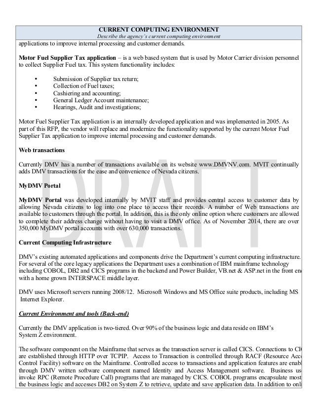 Dmv_Smrfp_It Rfp Development Form_Master_02-06-L5 V 1.0 Ad Final