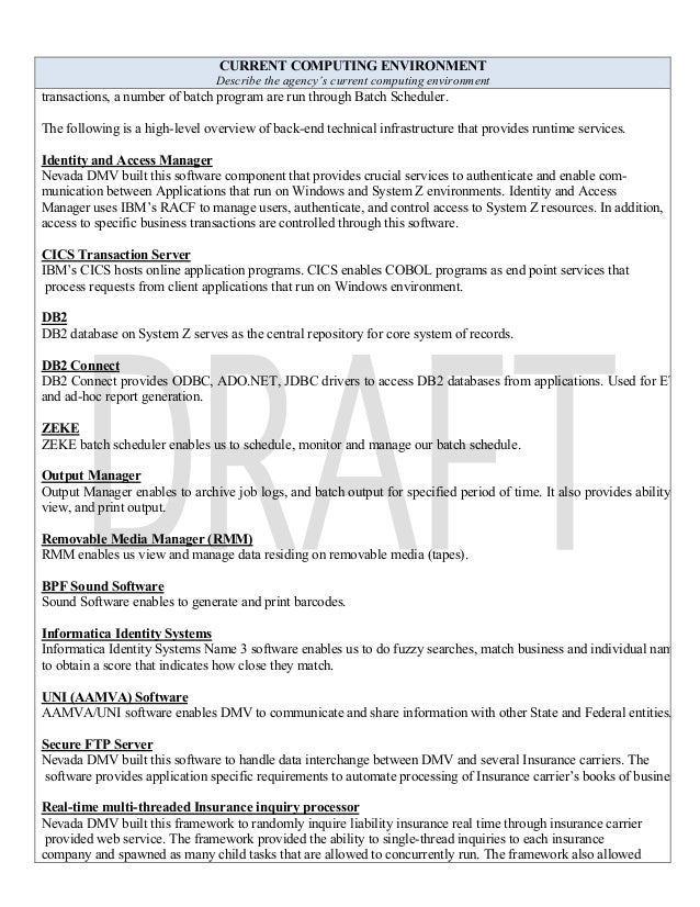select ride medical transporter resume sample ann arbor michigan dmv_smrfp_it rfp development form_master_02 06 l5 v 10 ad final - Sample Resume Hospital Transporter
