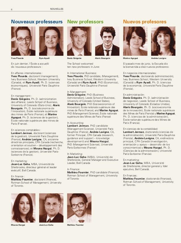 7HEC Montréal Mag – Automne 2014 Distinctions Jean-François Cordeau a été nommé membre du Collège de nouveaux chercheurs e...