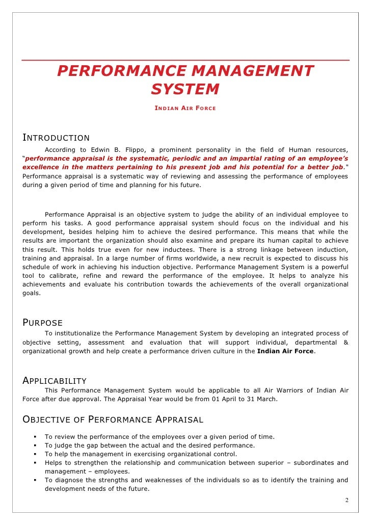assignment 1 understanding performance management Performance management systems 1 reason for issue: to   performance over the entire period and the assignment of a summary level  [an ] understanding [of how the employee's individual performance.