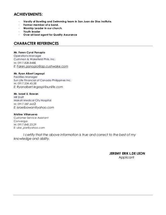 Jeremy Updated CV – Oxymoron Worksheet