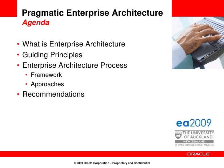 ea2009 Enterprise Architecture keynote Final