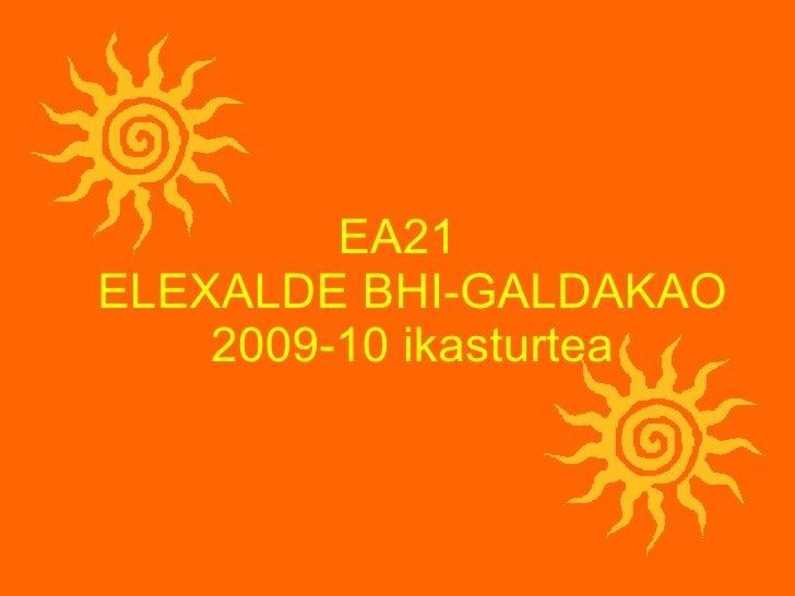 Ea21 2009 10 ikasturteko memoria (2010-ekaina)