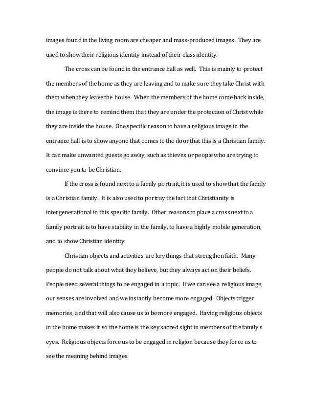 christianity essay the 6 images