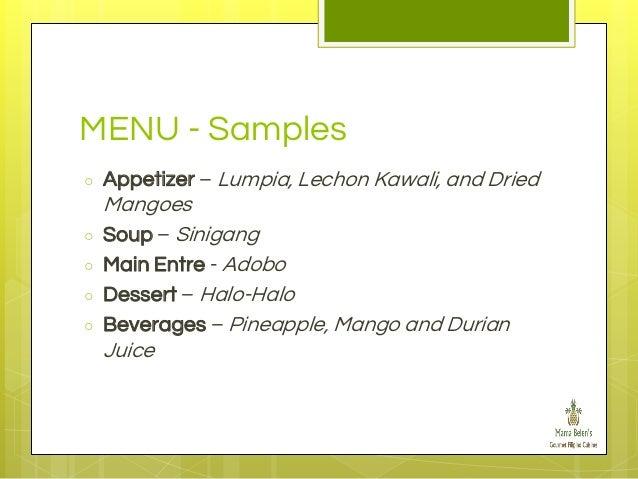 soup restaurant business plan
