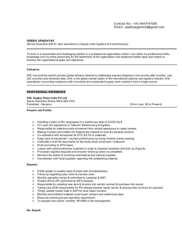 updated resume girish