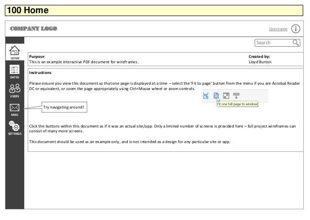 Interactive Pdf Example