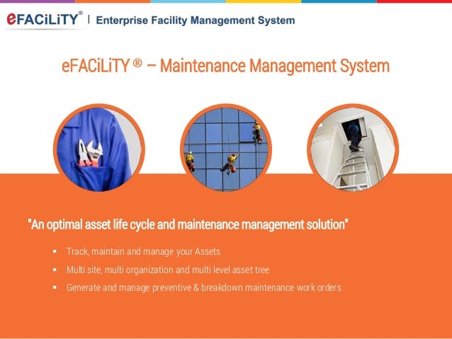 eFACiLiTY® Facility Management Software