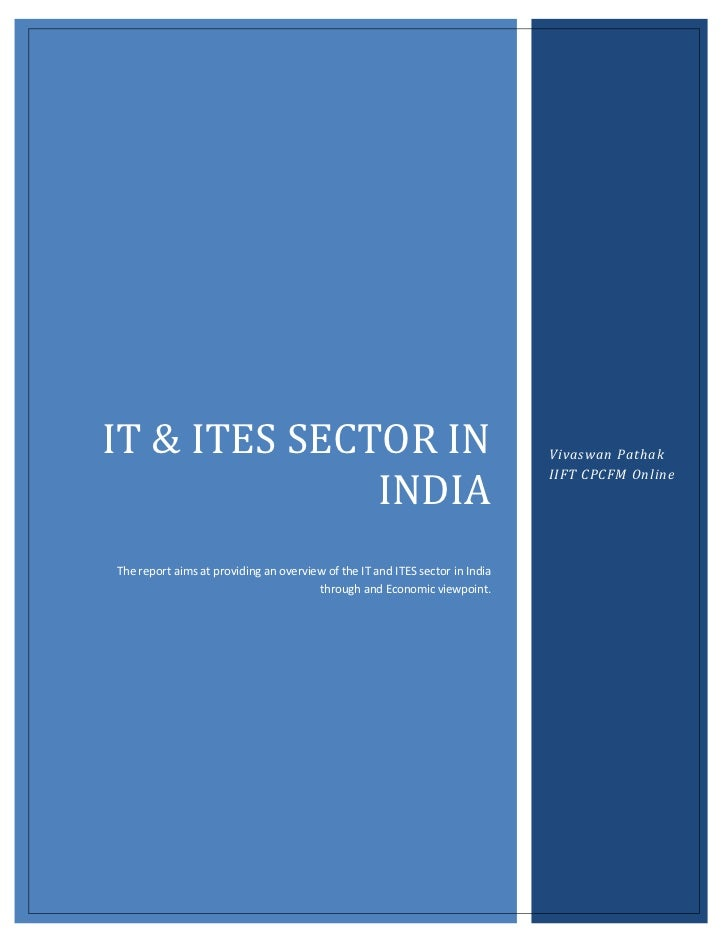 IT & ITES SECTOR IN                                                           Vivaswan Pathak              INDIA          ...
