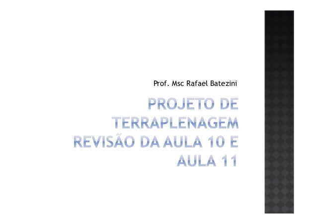 Prof. Msc Rafael Batezini