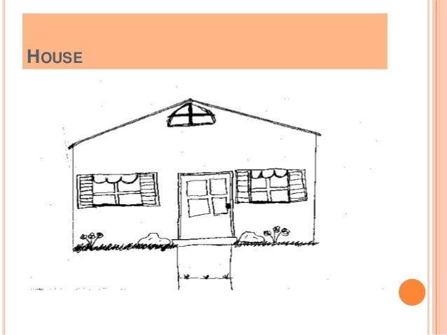  1] Details a] Essentials [normal drawing] At least one door, one window, one wall, a roof, a chimney b] Irrelevant [e.g....