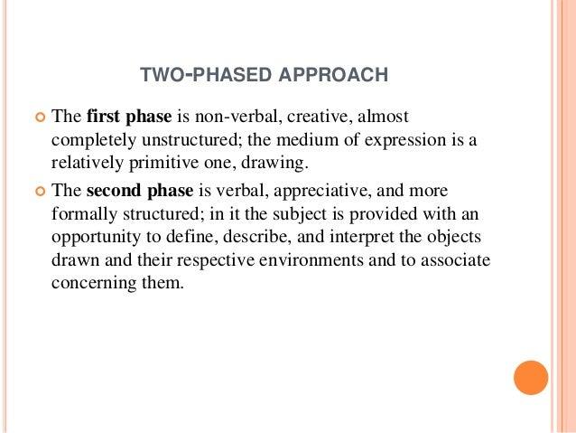  Buck included both qualitative and quantitative measurements