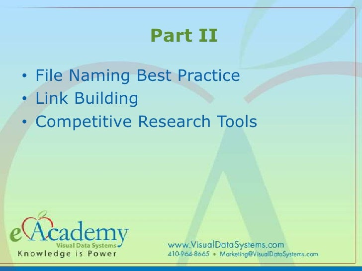 Search Engine Optimization & Marketing II - Best Practices For Long T… slideshare - 웹
