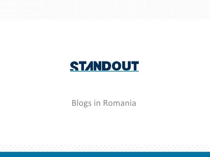 Blogs in Romania