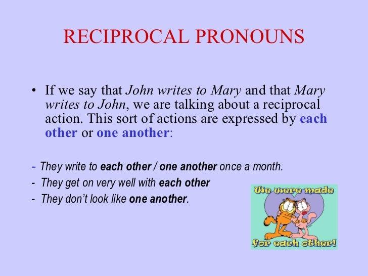 reciprocal pronouns spanish