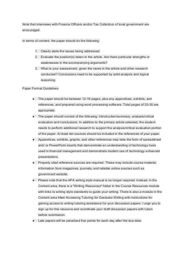 research paper for public finance Free term paper sample on public finance topic free research paper example  about public finance find writing tips and more term papers.