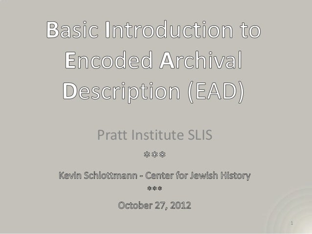 Pratt Institute SLIS                       1
