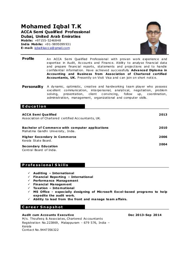 what is qualification in resumes