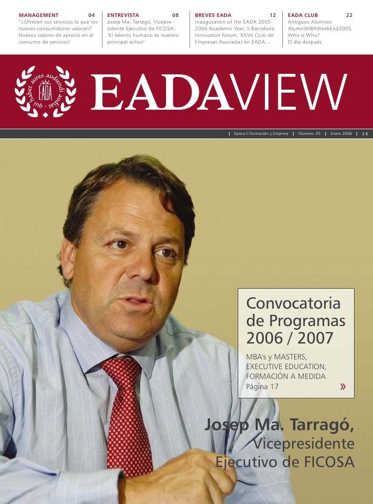 EADA VIEW Nº 5
