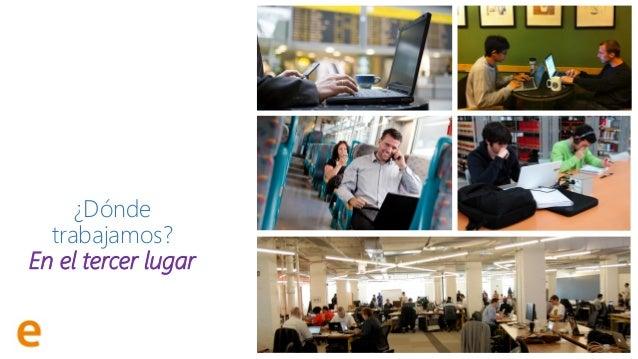 @RamonCosta Oficinas Flexibles Teletrabajo ¿Dónde trabajamos? En el tercer lugar