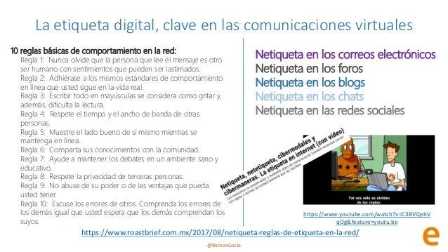 @RamonCosta La etiqueta digital, clave en las comunicaciones virtuales https://www.roastbrief.com.mx/2017/08/netiqueta-reg...
