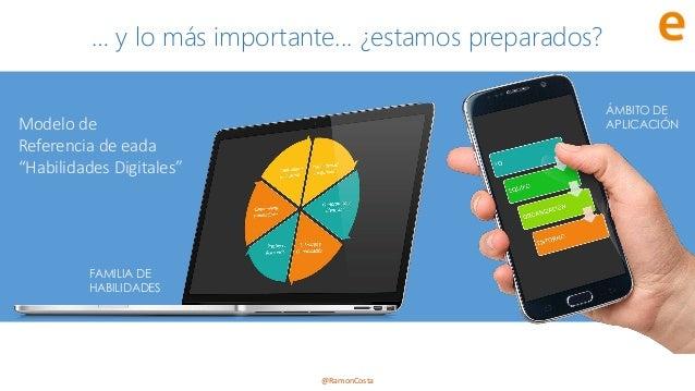 """@RamonCosta Modelo de Referencia de eada """"Habilidades Digitales"""" FAMILIA DE HABILIDADES ÁMBITO DE APLICACIÓN … y lo más im..."""