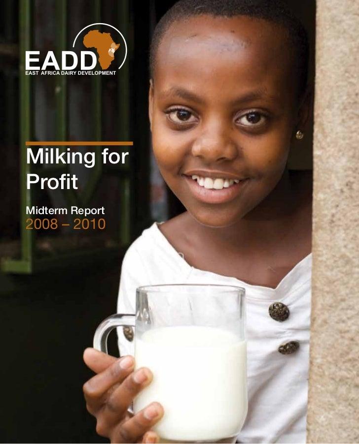 Milking forProfitMidterm Report