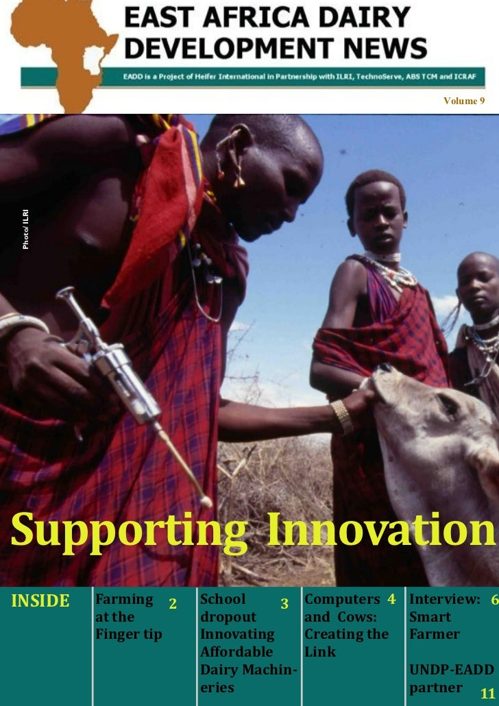 East Africa Dairy Development Project                                                                                     ...