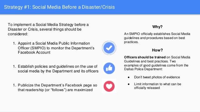 Law Enforcement Social Media Enhancing Response Communication An
