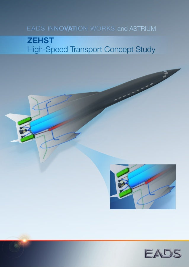 ZEHST High-Speed Transport Concept Study	 and ASTRIUM