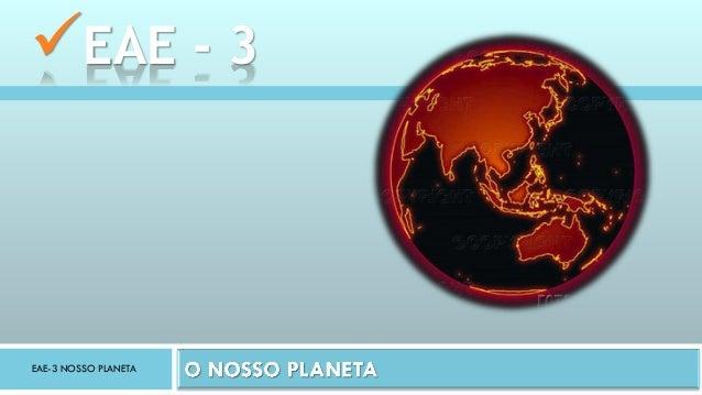 EAE-3 NOSSO PLANETA EAE - 3