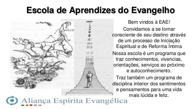 Aprendizes Do Evangelho: Eae 1 Aula Inaugural Rev01