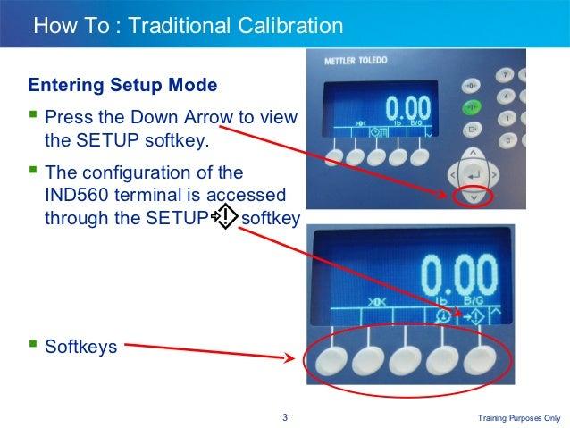 eaet mettler toledo ind560 calibration rh slideshare net Mettler-Toledo IND560 Labeled Toledo Mettler Ind570
