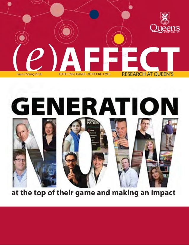 (e)AFFECT Research Magazine Queen's University