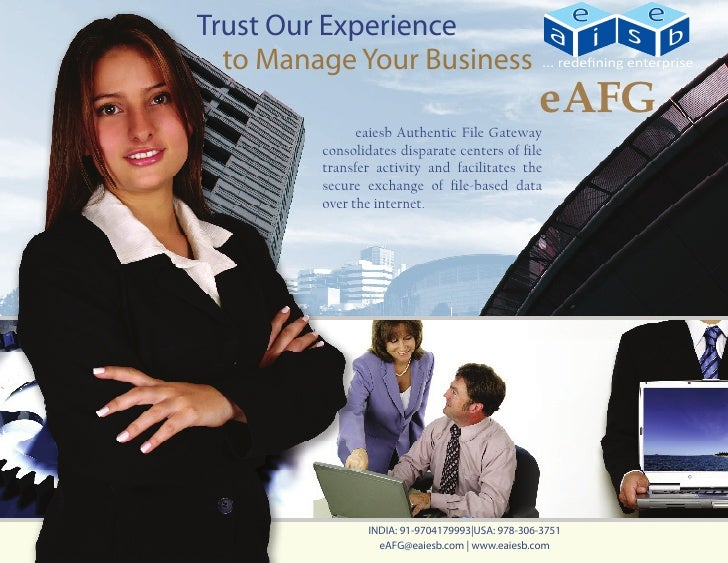 Trust Our Experience  to Manage Your Business                                                 eAFG              eaiesb Au...