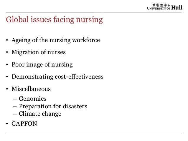 workforce issues in nursing For nursing enhancing diversity in the nursing issues surrounding the lack of diversity in the nursing diversity in the nursing workforce plays a critical role.