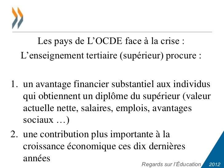 Indicateurs de l'OCDE sur la mondialisation économique - OCDE